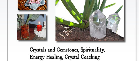 Re-Creative Resources Inc. offers an on-line Spiritual Center full of wonderful resources to aid in the exploration and growth of one's spirituality. This is a great place to find inspiration as well as spiritual and metaphysical products, with an emphasis on crystals. Our on-line crystal store offers a variety of beautiful crystals and gemstones at affordable prices. We also offer crystal healing, (in person and long distance) as well as crystal coaching, to help you make the most out of your crystal collection.