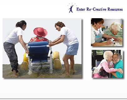 Re-Creative Resources Inc. is committed to enhancing the lives of the elderly in health-care facilities through the use of therapeutic recreation and activities. We provide continuing education, resources, training materials, quality assurance tools, and other digital products for Activity and Recreation Professionals who work with Seniors and individuals with disabilities. We feature an abundance of recreational activity ideas, as well as invaluable tips and materials for the Activity Director or Recreation Manager.